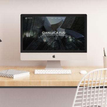 Lavoro di web writing realizzato l'architetto Gianluca Fusi.